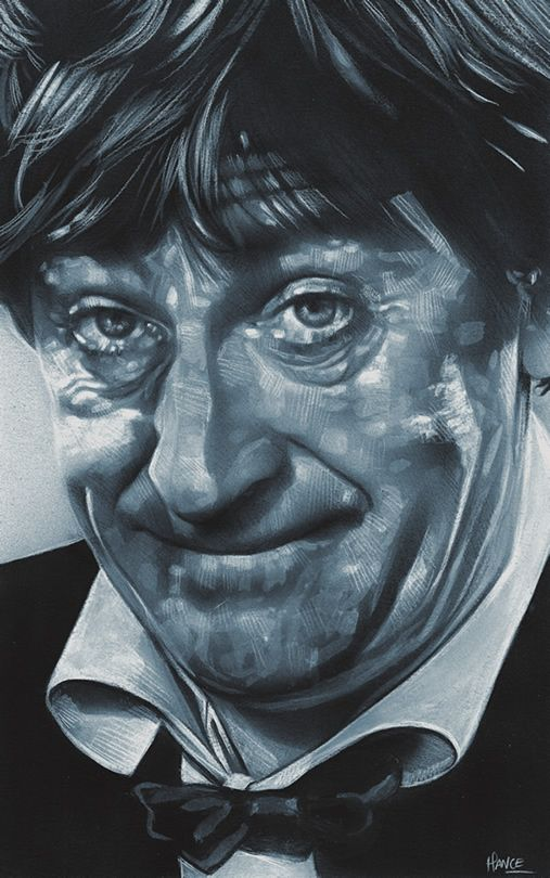 Doctor Who Second Doctor Art Print