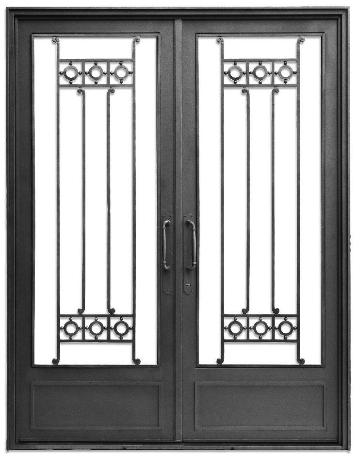 M s de 1000 ideas sobre puertas de hierro forjado en - Puertas de entrada de hierro ...