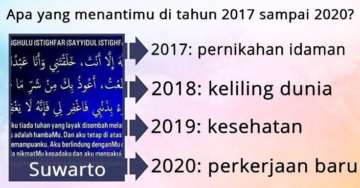 Apa yang menantimu di tahun 2017 sampai 2020?