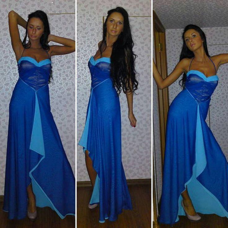 35 отметок «Нравится», 7 комментариев — Anzhelina Zakharchuk (@anzhelinaz) в Instagram: «Для дочери на свадьбу подруги,  шифон двух цветов, драпированный лиф#швейныйчатикработы #шьюдочери…»