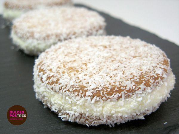 Receta de galletas de coco rellenas de mantequilla una merienda genial, con unos ingredientes ricos para los mas peques gustarán a grandes y pequeños.