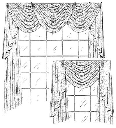 Extension Service Sewing Pattern in addition 497929302522486195 further Cornice Designs besides 8092474303972424 additionally Curtains And Drapes. on window valance patterns