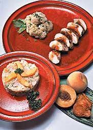 Pechugas de pollo con mermelada de durazno y jengibre - Recetas