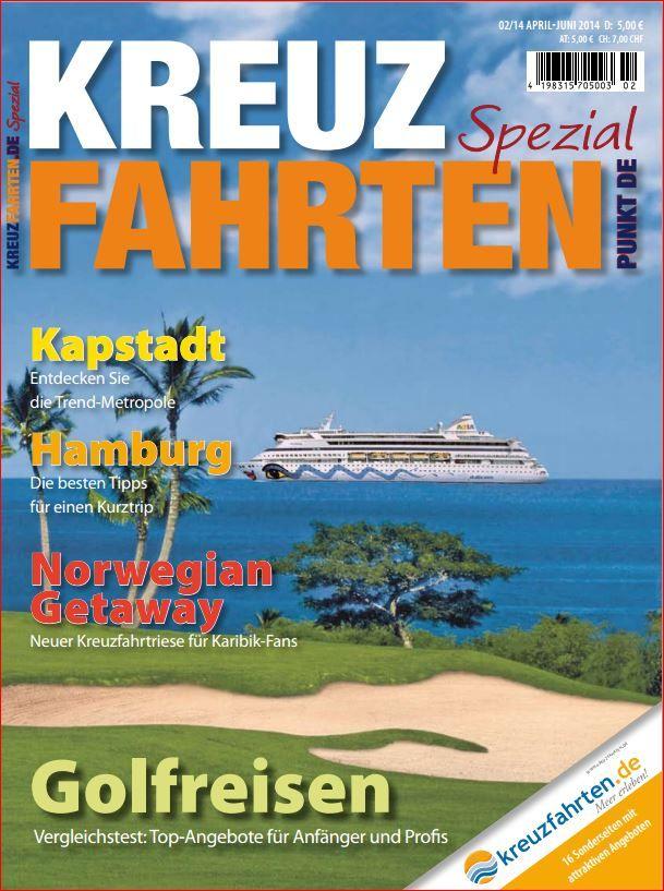 Die neue KREUZFAHRTEN Ausgabe 2/2014 - wie immer von den Wunderkindern realisiert. Ab Mitte März im Handel!