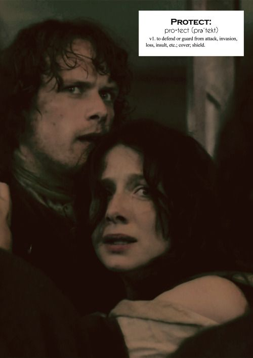 Outlander definitions.- Protect. (x)