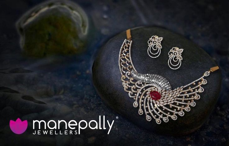 Designer Diamond Choker Necklace with Earrings, Designer Diamond Necklace Designs