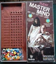 Mastermind Game by Parker Brothers.
