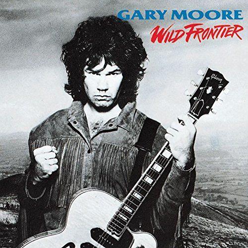 Gary Moore Wild Frontier Rock Album Cover Rock Legenden L P