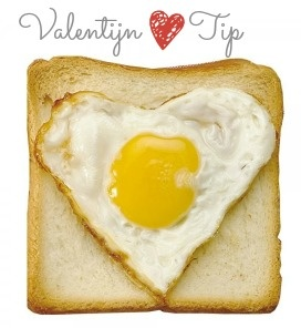 """Goeiemorgen! Dit gebakken eitje komt recht uit het hart dankzij de """"Heart Egg Molder"""".  @maxandme.be"""