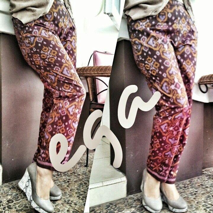 original tenun pants