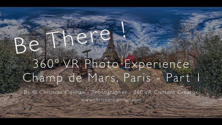 EN 🇳🇿 Part 1 - 360 VR Photo Video Experience of Champ de Mars, Paris. Once open, you can explore the 360 VR Pano Photo in order to view the interactive video. Don't forget to wear your VR Headset! ==================== ES 🇪🇸 Parte 1 - Experiencia VR 360 Video Fotos del Campo de Marte, Paris. Una vez abierta, podrás explorar la Foto Pano 360 VR  para ver el video interactivo. No te olvides de usar tus Auriculares VR! ====================    #ChristianKleiman    #ChristianKleimanPhotography