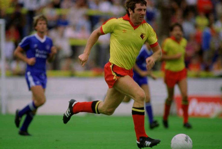 Gerry Armstrong, who was Watford F.C's record transfer, when he signed from Tottenham in 1981, for £250,000.