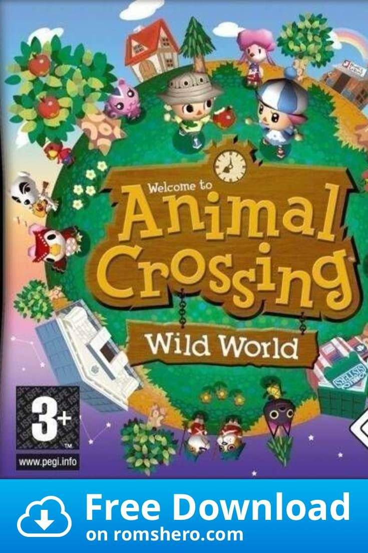 Download Animal Crossing Wild World Nintendo Ds Nds Rom