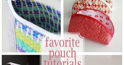 I've been having fun making a variety of zipper pouches lately and I thought I would share with you a few of my most favorite zipper pouch t...