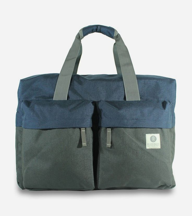 Weekender Bag by Ridgebake. Classic briefcase design made from lightweight, durable Cordura fabric. Created with durability against the urban elements in mind, the laptop bag is designed to carry your laptop & accessories and additional stuff you need during a day or overnight adventure to climb the corporate ladder. http://www.zocko.com/z/JG0ga