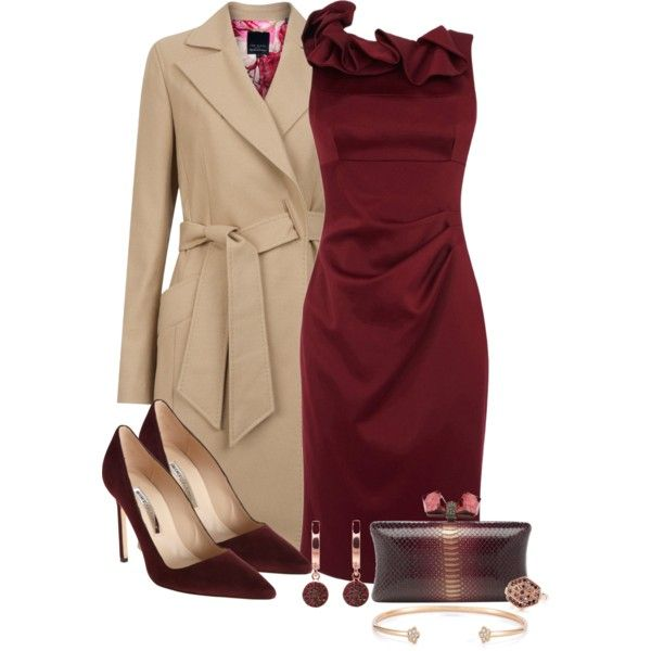 #new years Christmas party outfit red