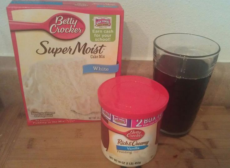 Root Beer Cupcakes = 1 can Root Beer + White Cake Mix + Vanilla Frosting