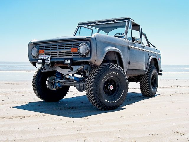 Ford Bronco-American SUV
