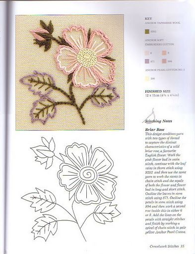 Revista Crewelwork - Lucilene Donini - Álbuns da web do Picasa