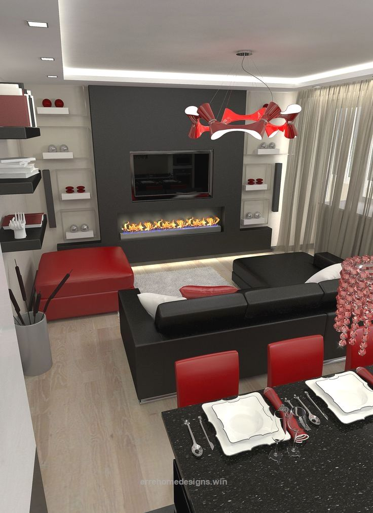 Red Black And White Living Room Amazing Ideas 9 On Home