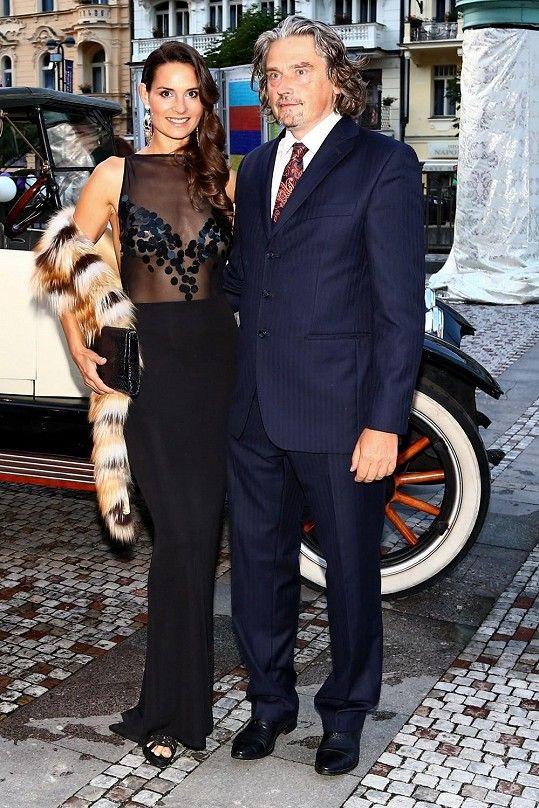 Tatínkem už třetí dcery Terezie Dobrovolné je miliardář David Beran.