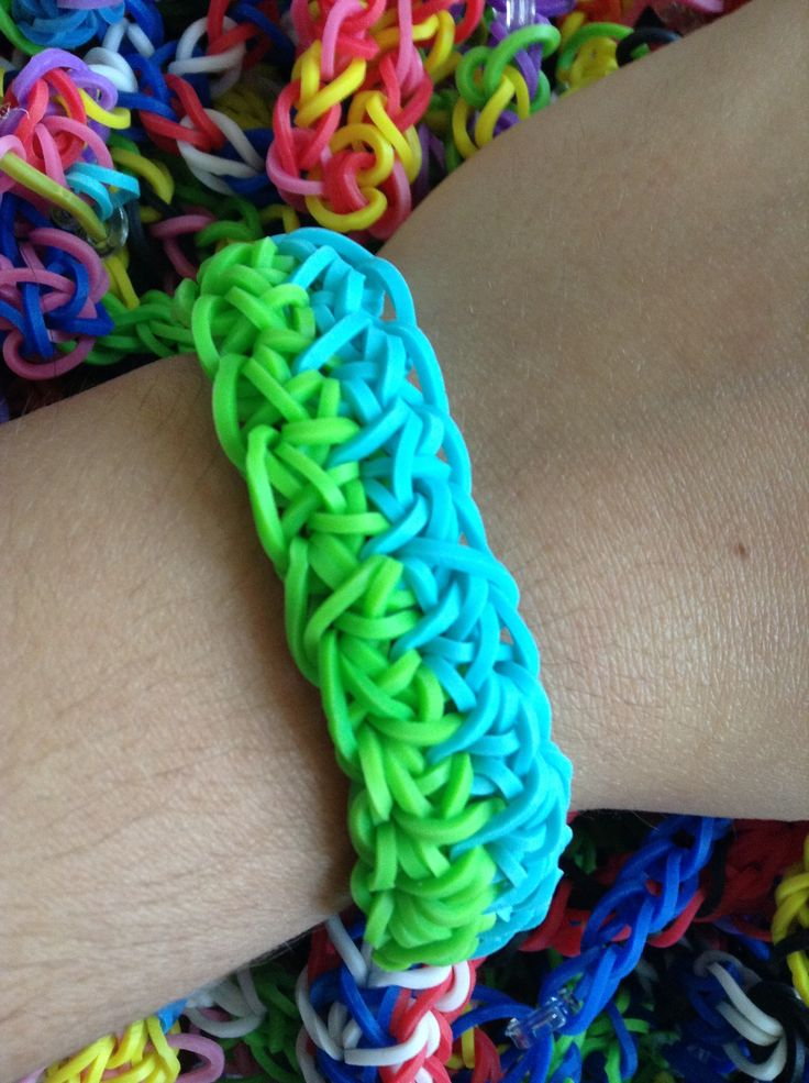 how to make rubber band bracelets with loom