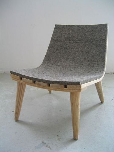 Felt Child's chair / Made by Bookhou, founded in 2002 by John Booth and Arounna Khounnoraj