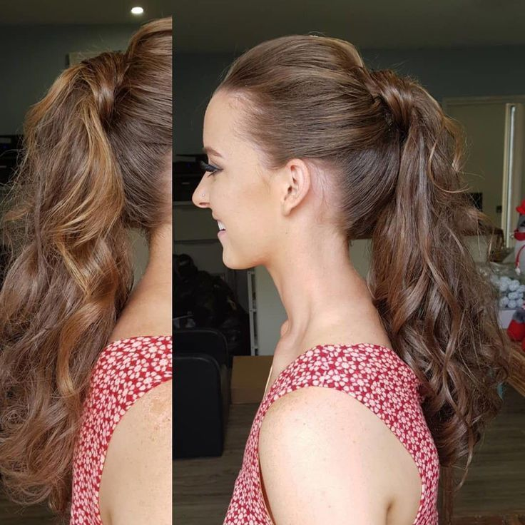 20 Easy Ponytail Hairstyles for Lazy Girls, Being a lazy girl does not mean that...,  #Easy #...