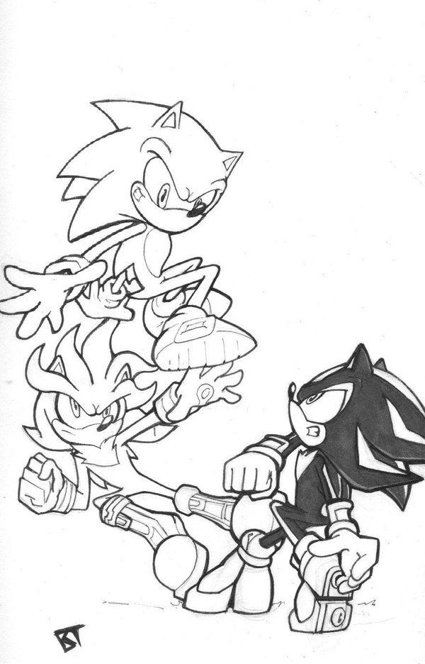 195 best Sonic Shadow y Silver images on Pinterest  Shadows