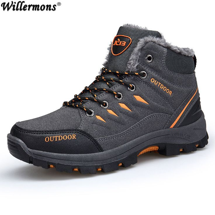 Winter 2018 Men's New Outdoor Cotton Snow Boots Shoes Men Anti-slip Warm Short Ankle Boots With Fur Botas Hombre Sapatos. Yesterday's price: US $30.62 (25.32 EUR). Today's price: US $30.62 (25.20 EUR). Discount: 61%.