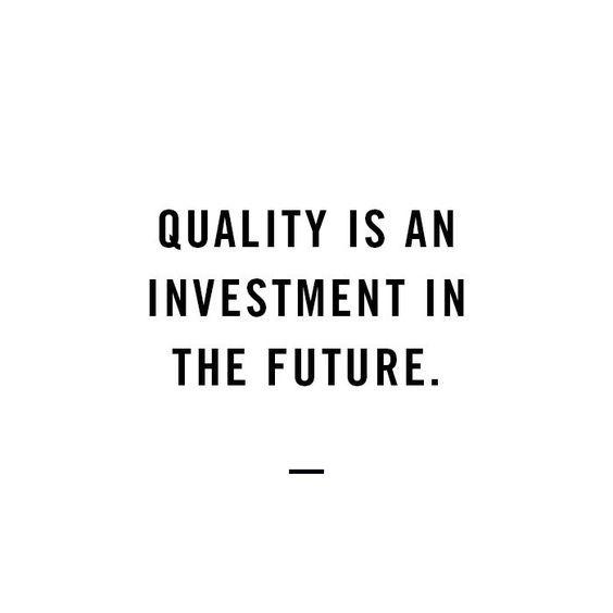 #quality over quantity / #entrepreneur / #mindset …