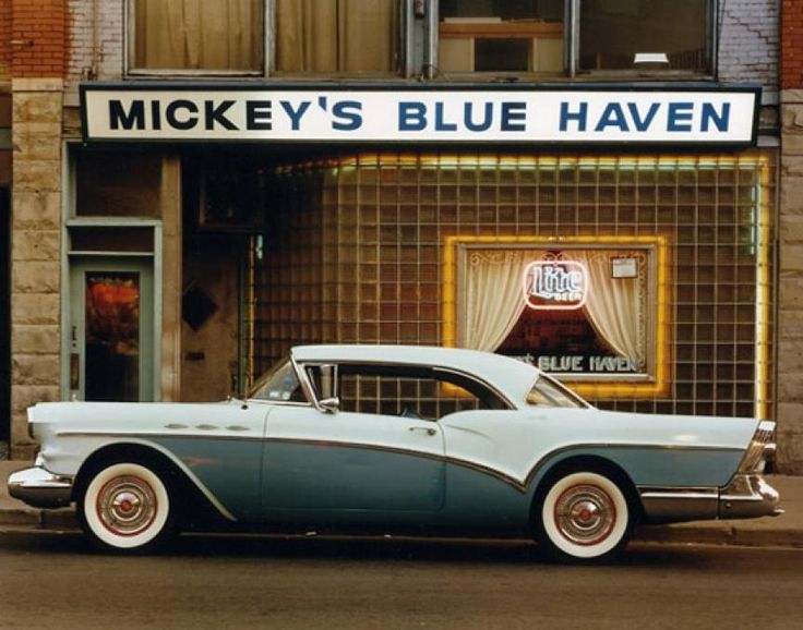 Bruce Wrighton: 1957 Buick Special Riviera Coupe, Mickey's Blue Haven, Johnson City, New York