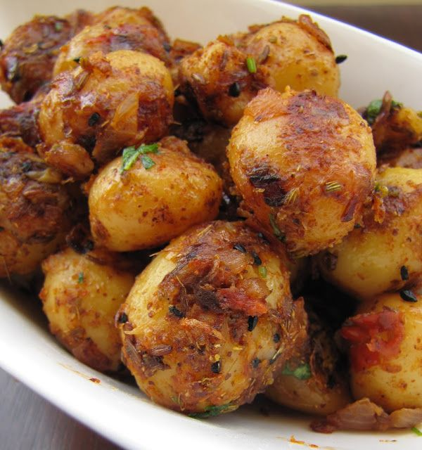 15 best veg fries images on pinterest indian food recipes indian go indian this weekend with spicy pickled baby potatoes achari aloo from super yummy recipes forumfinder Choice Image