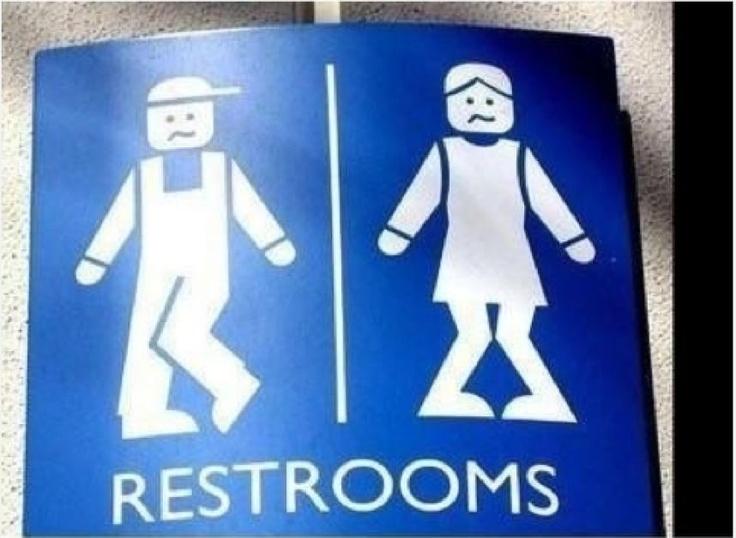 FOTOS: Extraños letreros para baños – Publimetro