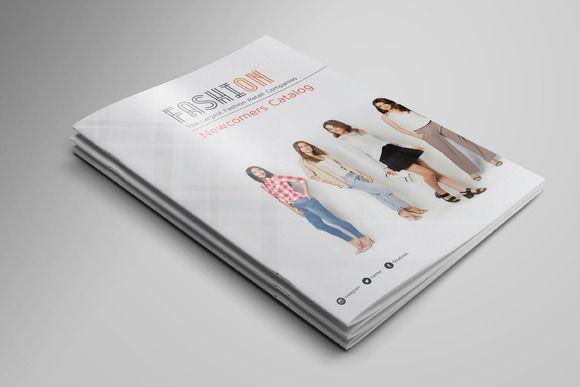 A4 Fashion Catalog by Vecto Designs on @creativemarket