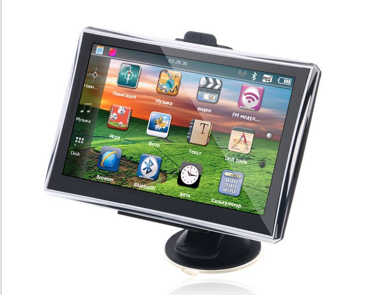 7 Inch Car GPS Navigation System MTK 800MHZ CPU Windows CE Bluetooth AV-IN 128MB DDR2 4GB Navigator Free Map http://www.dashcamerapro.com/7-inch-car-gps-navigation-system-mtk-800mhz-cpu-windows-ce-bluetooth-avin-128mb-ddr2-4gb-navigator-free-map-p-476.html