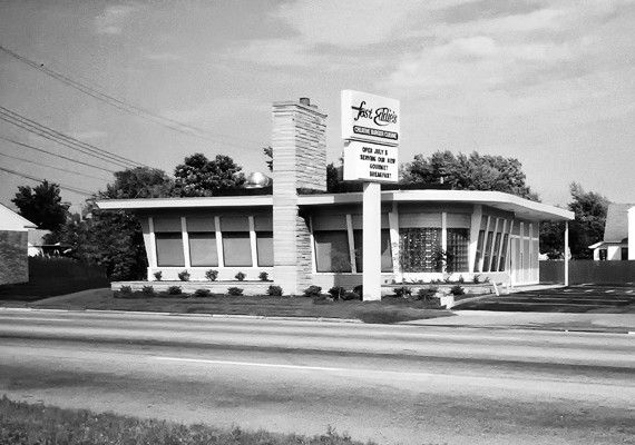 Fast Eddies Restaurant on Pearl Rd. no longer there, torn down for new fire station. reopened in 2016 at the Shoppes at Parma
