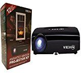 Halloween Decorations:  Indoor Window Projector  Halloween decorations now include making a window an animate Halloween scene, and can be made safer from theft and vandalism.  Image from Amazon.