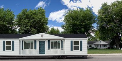 The mobile homestead in suburbia