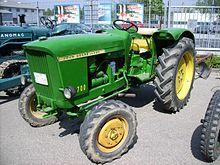 John Deere-Lanz 700 tractor