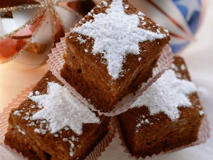 Weihnachtliche Brownies - smarter - Kalorien: 90 Kcal - Zeit: 20 Min. | eatsmarter.de