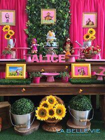 Olá,    A festa de 7 anos da Alice teve a decoração com o tema da Masha e o Urso. O evento foi realizado na Cake eventos.   Segue abaixo alg...