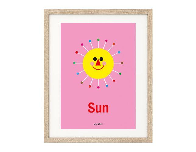 "Ilustración / Illustration ""Sun"". Printable http://es.dawanda.com/shop/linavila"