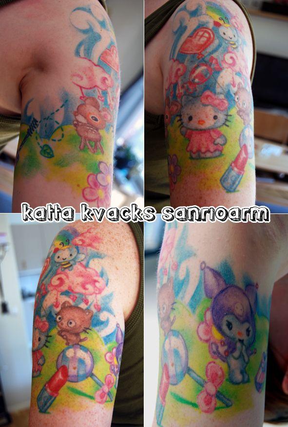 Min sanrioarm My Hello Kitty & Friends tattoo