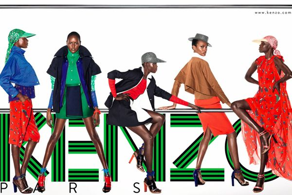 Kenzo spring 2012 campaign #type #color #awesomeness