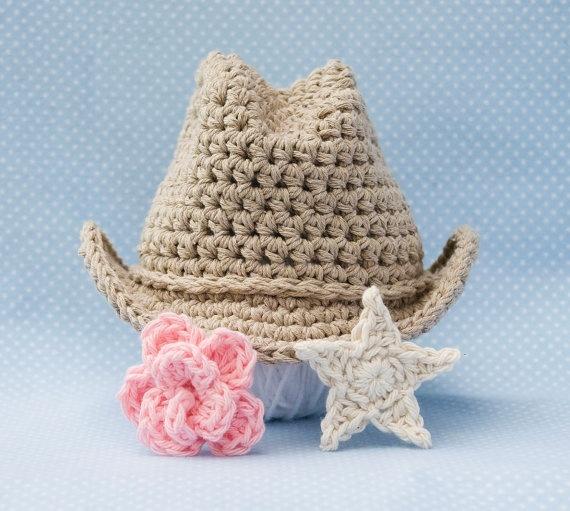 Crochet Pattern For Cowboy Hat : Crochet cowboy hat Gorros y sombreros. Pinterest ...