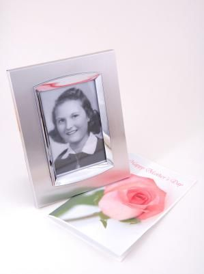 Memorial photo of mom in her prime