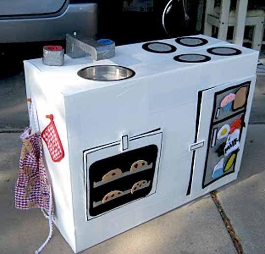 Toy Kitchen Sink Just Diy Toy Kitchen Sink Set: Best 25+ Cardboard Kitchen Ideas On Pinterest