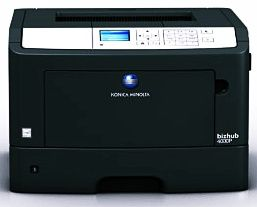 Konica Minolta Bizhub 4000p Driver Windows 7