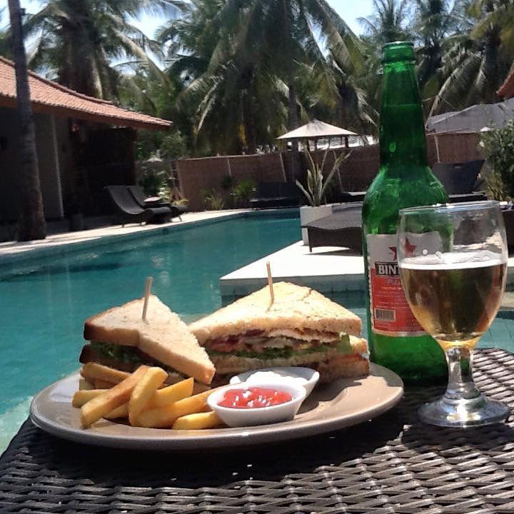Awesome - our Belukar club sandwich